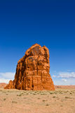 Arizona Desert Red Rock. Against a crisp blue sky Royalty Free Stock Images