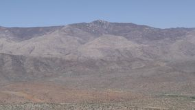 Arizona, desierto, un enfoque adentro en el pico más alto de las montañas de Bradshaw metrajes