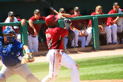 arizona diamondbackjustin upton Royaltyfria Bilder