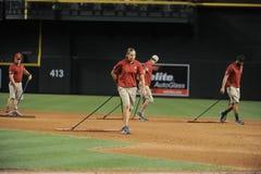 Arizona Diamondbacks-Bodenmannschaft stockfotografie