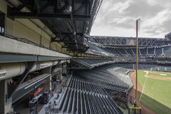 Arizona Diamondbacks Chase Field Baseball Stadium. From its signature swimming pool to its retractable roof, Chase Field is one of professional baseball's most Stock Images