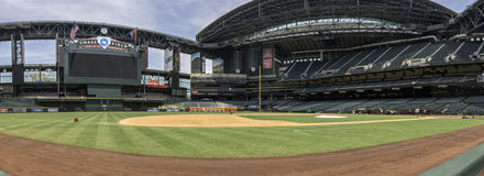 Arizona Diamondbacks Chase Field Baseball Stadium Stock Photos
