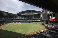 Arizona Diamondbacks Chase Field Baseball Stadium Royalty Free Stock Photos
