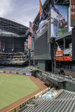 Arizona Diamondbacks Chase Field Baseball Stadium. From its signature swimming pool to its retractable roof, Chase Field is one of professional baseball's most Royalty Free Stock Photos
