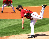 Arizona Diamondbacks Pitcher Doug Davis Royalty Free Stock Photo