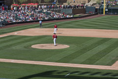MLB Cactus League Spring Training Game Royalty Free Stock Images