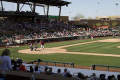 MLB Cactus League Spring Training Game Stock Image
