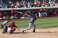 MLB Cactus League Spring Training Batter Royalty Free Stock Photo