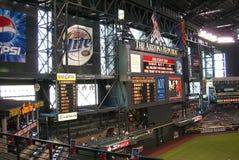 Arizona Diamondbacks Scoreboard - Chase Field Stock Photos