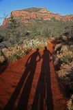 Arizona-Fahrradspur Lizenzfreie Stockfotografie