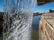 Arizona Falls, Phoenix, Arizona. Arizona Falls, hydroelectric power plant in Phoenix, Arizona Stock Image