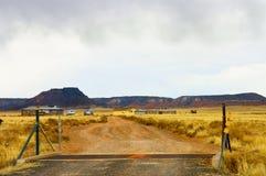 Arizona farmland decay Stock Photo