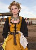 Arizona festiwalu Renesansowy Wench Zdjęcia Royalty Free