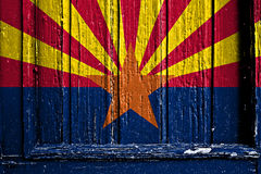 arizona flagę Fotografia Stock