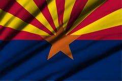 arizona flagę Obraz Royalty Free