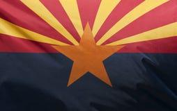 arizona flaggatillstånd Royaltyfri Bild