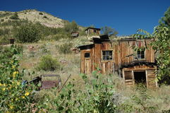 Arizona Ghost town Stock Photography