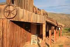 Arizona Ghost Town Royalty Free Stock Images