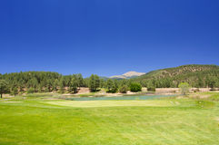 Arizona golf course Stock Photo