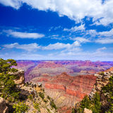 Arizona Grand Canyon Park Mother Point and Amphitheater Stock Image