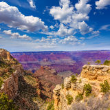 Arizona Grand Canyon Park Mother Point and Amphitheater Stock Photography