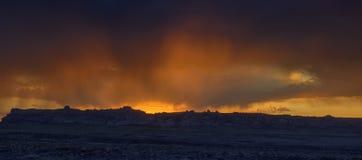 Arizona-Hügel-Sonnenuntergang Stockbilder