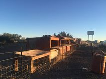 Arizona-Hütten lizenzfreie stockbilder
