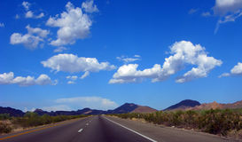 Arizona Highway Royalty Free Stock Photo