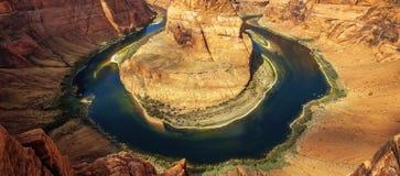 Arizona Horseshoe Bend Royalty Free Stock Photography