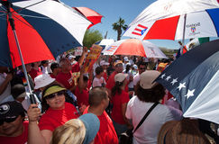 Arizona Immigration SB1070 Protest Rally Stock Photo
