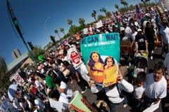 Arizona Immigration SB1070 Protest Rally Royalty Free Stock Image