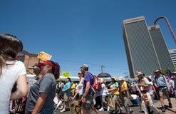 Arizona Immigration SB1070 Protest Rally royalty free stock photography