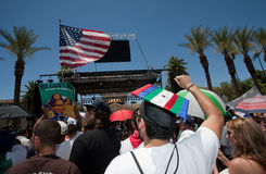 Arizona Immigration SB1070 Protest Rally Stock Photography
