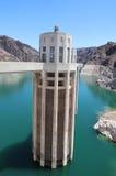 Arizona Intake Tower on Hoover Dam Stock Photography
