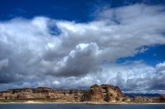 arizona jeziora powell Zdjęcia Royalty Free
