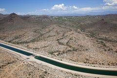 Arizona-Kanal stockbilder