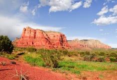 arizona katedry krajobrazu skały sedona Zdjęcia Royalty Free