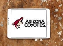 Arizona kojotów drużyny hokejowej lodowy logo Zdjęcie Stock