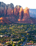 Arizona krajobraz blisko Sedona Fotografia Royalty Free