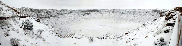 arizona kratermeteor arkivfoton