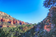 Arizona landscape. Beautiful, cool, amazing, stunning Stock Images