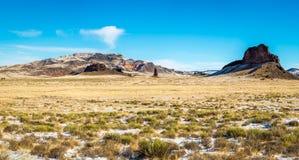 Arizona Landscapes with snow. Royalty Free Stock Photos