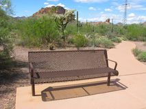 Arizona Lost Dutchman Park Stock Photography