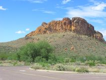 Arizona Lost Dutchman Park Stock Photo