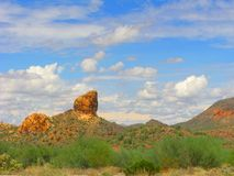 Arizona Lost Dutchman Park Royalty Free Stock Images