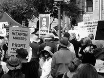 Arizona marzo por vidas de la salida imagenes de archivo