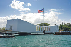 Arizona Memorial Royalty Free Stock Photo
