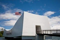 Arizona Memorial. U.S.S. Arizona Memorial in Pearl Harbor, Hawaii royalty free stock photography
