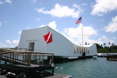 arizona memorial Zdjęcia Stock