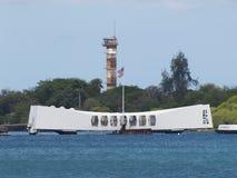 Arizona Memorial. The Arizona Memorial, Pearl Harbor Royalty Free Stock Image
